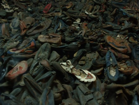 Auschwitz I, immagini del museo - ANED